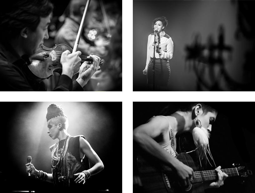Photographie de Concert Grid © Sylvain Gelineau Photographe Toulouse