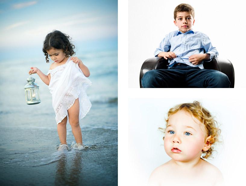 Photographie de Bébés et Enfants Grid © Sylvain Gelineau