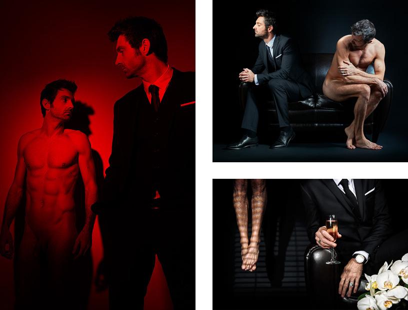 Série d'autoportraits [TWO SEUL] © Sylvain Gelineau Photographe Toulouse